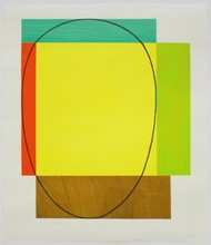 罗伯特·曼戈尔德 - 版画 - Five Color Frame