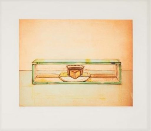 Morton Wayne THIEBAUD - Print-Multiple - Pie Case