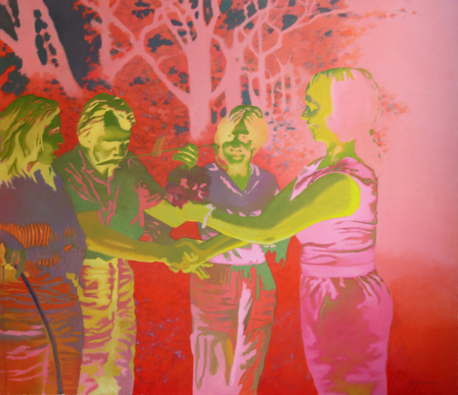 Liga PURMALE - Gemälde - FLASHBACK 8