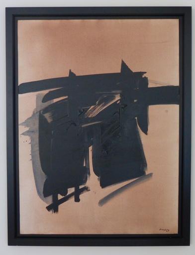 André MARFAING - Peinture - Sans titre, 1973
