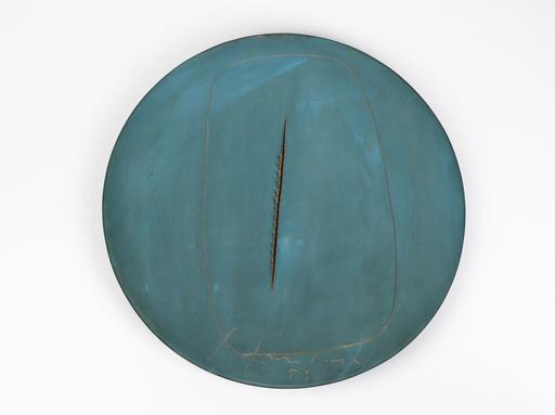 鲁西奥•芳塔纳 - 陶瓷  - Concetto spaziale