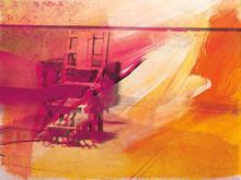 安迪·沃霍尔 - 版画 - Electric Chair