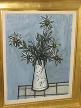 Bernard BUFFET - Pintura - Bouquet of Flowers