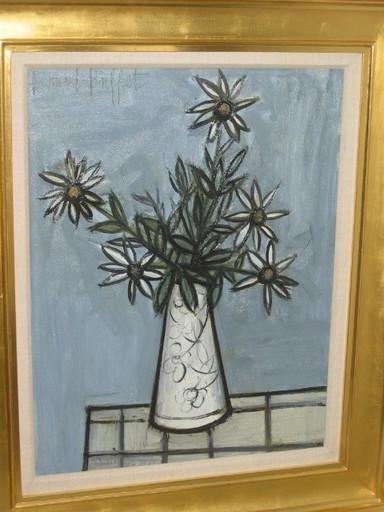 Bernard BUFFET - Gemälde - Bouquet of Flowers