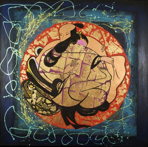 Corine LESCOP - Peinture - L'empire des sens