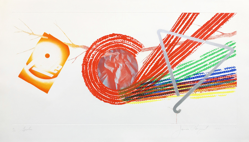 James ROSENQUIST - Grabado - SPOKES
