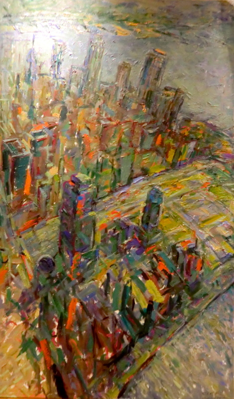 "Bruno GRIESEL - Painting - ""9/11"""
