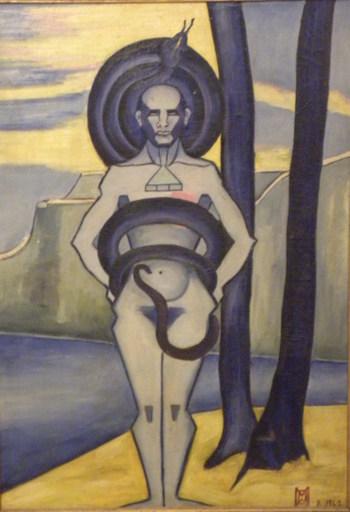Maud BONADE LA CHARME - Gemälde - OOM ou LA ALLAH ELLALLAH
