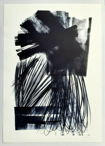 Hans HARTUNG - Stampa-Multiplo - L-17-1973