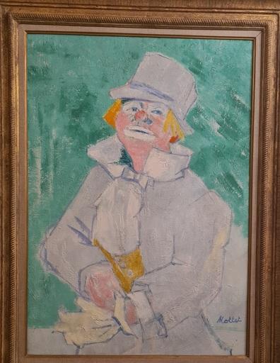 Yvonne MOTTET - Painting - LE CLOWN