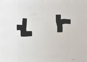 Eduardo CHILLIDA - Estampe-Multiple - Place I | Leku I