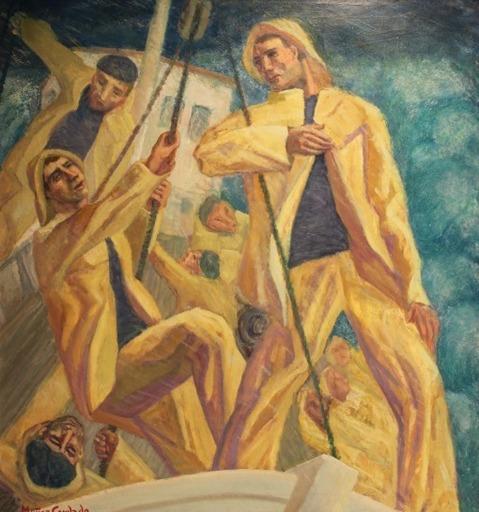 Pedro MUNOZ CONDADO - Painting - Borrasca