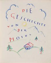 Carry HAUSER - Drawing-Watercolor - Die Geschichte von der Moidl
