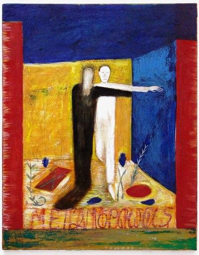 Mimmo PALADINO - Pintura - Metamorfosi