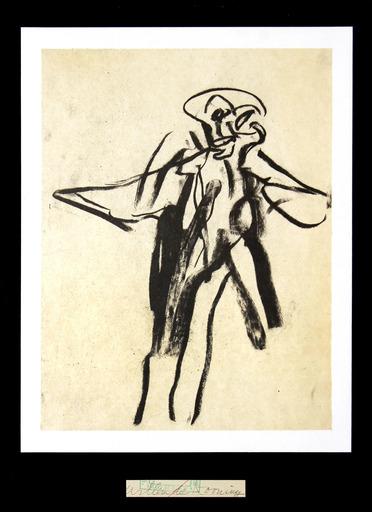 Willem DE KOONING - Druckgrafik-Multiple - Untitled (For Frank O'Hara)
