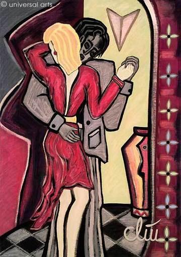 Jacqueline DITT - Peinture - Innig (Intimate)