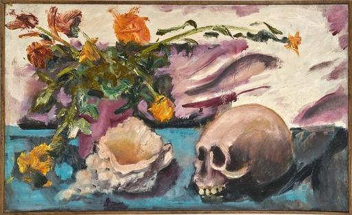 Davide ORLER - Gemälde - FIORI CONCHIGLIA TESCHIO