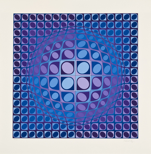 Victor VASARELY - Estampe-Multiple