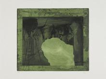 Antoni CLAVÉ - Estampe-Multiple - En Noir et Vert