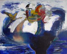 Alfonso COSTA BEIRO - Pintura - mascara