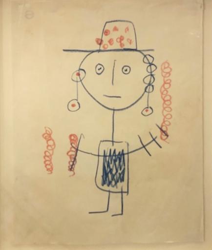 Albert CHUBAC - Disegno Acquarello - 350Z2