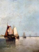 Auguste Henri MUSIN - Painting - MARINE