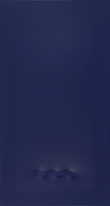 Turi SIMETI - Painting - Tre Ovali Blu