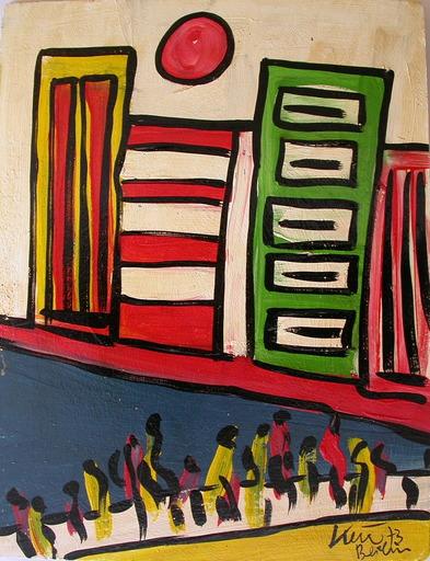 Peter Robert KEIL - Pittura - Am Hudson-River, New York