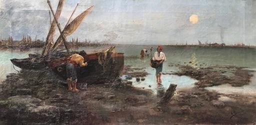 Fernando GARCÍA CAMOYANO - Painting - Puerto de Cadiz