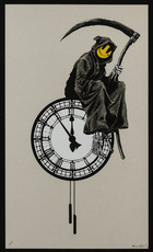 BANKSY - Estampe-Multiple - Grin Reaper