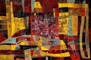 Iris BAND - Pintura - Der Königspalast