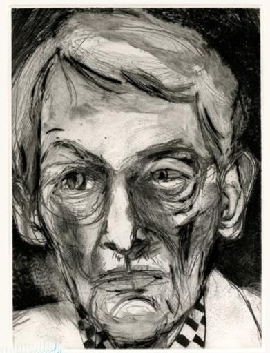Jim DINE - 版画 - Portrait d imprimeur