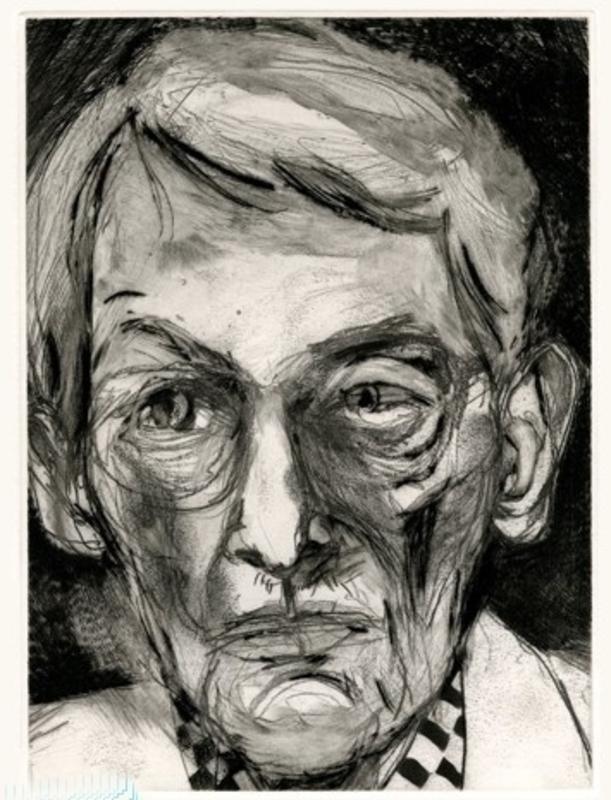 Jim DINE - Stampa-Multiplo - Portrait d imprimeur