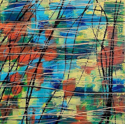 Marie Edmée SEGUIN - Painting - La nuit des temps N°24