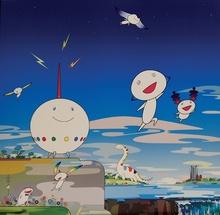 村上 隆 - 版画 - Planet 66