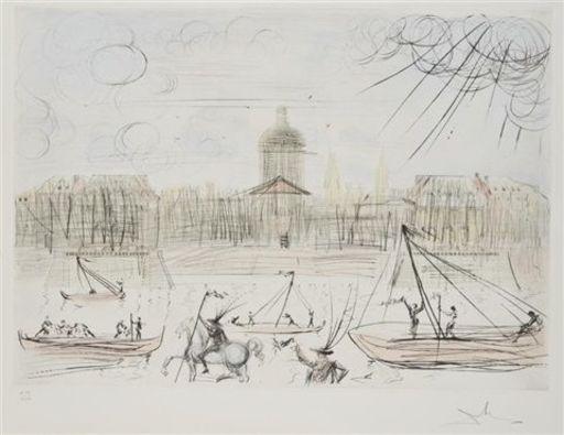 萨尔瓦多·达利 - 版画 - L'accademie de Paris