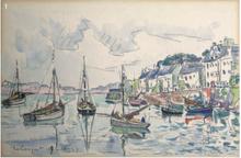 Paul SIGNAC - Drawing-Watercolor - Le Conquet