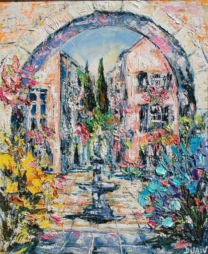 DUAIV - Pintura - village de Provence
