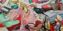 RU Xiaofan - Painting - Poubelle n°10