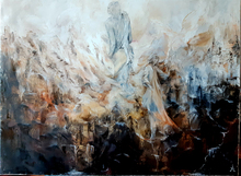 Anne Marie DELABY - Pittura - Les Gardiens de la Terre