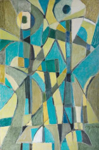 Jorj MORIN - Pittura - Conversation dans le ciel