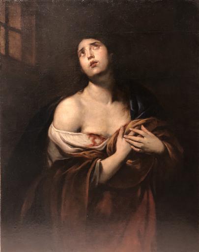 Andrea VACCARO - Painting - St Agatha