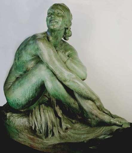 Marcel RAU - Escultura - Garden Nude