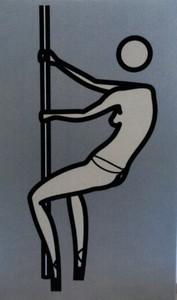 Julian OPIE - Peinture - This is Shahnoza No. 27