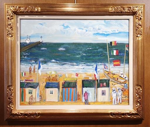 Carlos NADAL - Pintura - LITORAL DE BELGICA