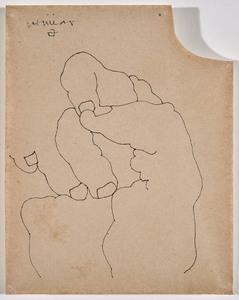 Eduardo CHILLIDA - Drawing-Watercolor - Hand