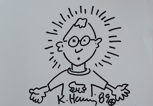 Keith HARING, Keith Haring Self Portrait