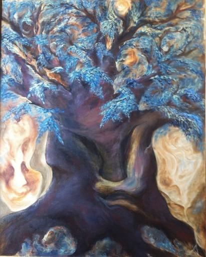 Anne Marie DELABY - Pittura - L'ELFO