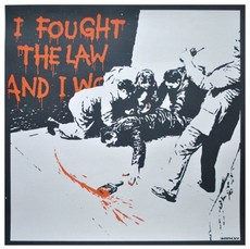 BANKSY - Estampe-Multiple - I Fought the Law (unsigned)