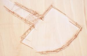 Tadashi KAWAMATA - Skulptur Volumen - Mallorca Project Plan 9